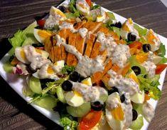 Sałatka nicejska z kurczakiem - Blog z apetytem