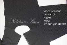 Boğazlı Pratik Kesim Elbise 36-46 Beden Aralığı - NEBİHAN AKÇA Sons, Pattern, Diy, Fashion, Molde, Dressmaking, Moda, Bricolage, Fashion Styles