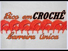 BICO EM CROCHÊ CARREIRA ÚNICA - YouTube