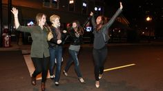 Drunk Women Find Their Run Across Busy Street Hilarious | The Onion - America's Finest News Source