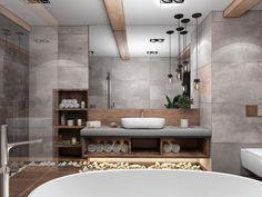 Bathroom Inspiration // Architecture DeluxThe Perfect Scandinavian Style Home - Bathroom Ideas Bathroom Spa, Bathroom Layout, Modern Bathroom Design, Bathroom Interior Design, Small Bathroom, Master Bathroom, Budget Bathroom, Bathroom Shelves, Bathroom Renovations