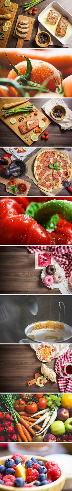 Today's special is a wonderful collection of 10 high resolution photos of tasty foods: from fresh fruits and veggies, to cooked...