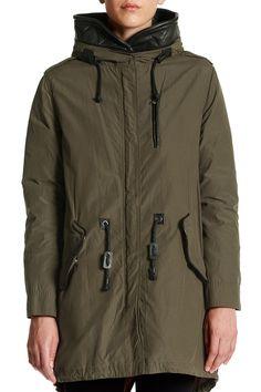 Mackage  Genuine Leather Trim 2-in-1 Jacket