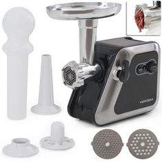 2000W 2 Speed Portable Electric Meat Grinder Sausage Maker Stuffer Meat Poultry Kitchen Aid Appliances, Kitchen Gadgets, Hamburger Patties, Sausages, Wild Boar, Venison, Grinding, Garlic Press, Elk