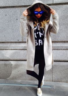 #coat & #shoes! Photo by: Forever Trendy #cuorestilo