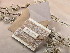 Custom listado papel reciclado 20 invitación por forlovepolkadots