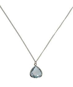 Dinny Hall Silver Blue Topaz Jaipur Necklace