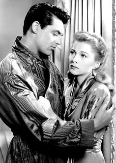 cary grant #joan fontaine