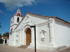 Colombia - Iglesia Colonial en El Molino, La Guajira.