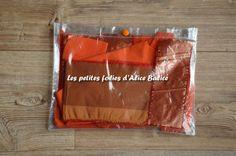Tuto : coudre une pochette transparente pour ranger ses chutes de tissu | tuto couture gratuit | diy Snack Recipes, Snacks, Diy, Chips, Fabric, Alice, Food, Ranger, Gadgets