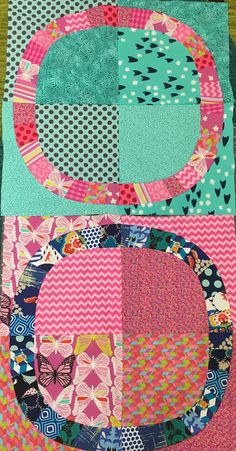 Variation on single girl quilt