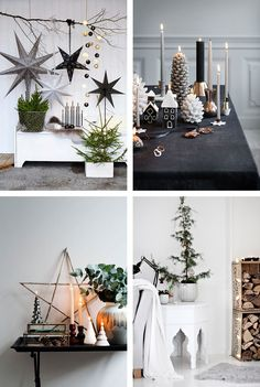 Scandinavian Christmas inspiration - how to get that perfect nordic look | Happy Grey Lucky