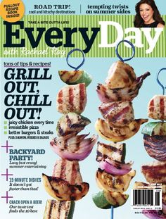 June 2012--Grilling Issue | rachaelraymag.com