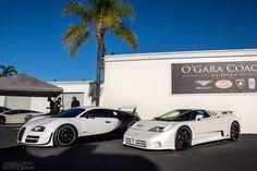 Looking for similar pins? Follow me! http://kohlsson.link/1W5N6ws | kevinohlsson.com Bugatti & Bugatti (Veyron PurBlanc & EB110 SS) [2048x1365]