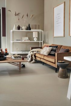 Living Room Color Schemes, Living Room Designs, Blush Living Room, Terrazzo, Vinyl Flooring, Room Colors, Home And Living, Modern Living, Decoration