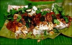 Little Lush Cooks: Steamed Fish with sticky sauce and crunchy garnishes