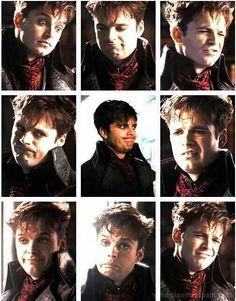 Sebastian (Jefferson) makes THE best faces EVER