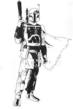 Boba Fett by Jeff Spokes