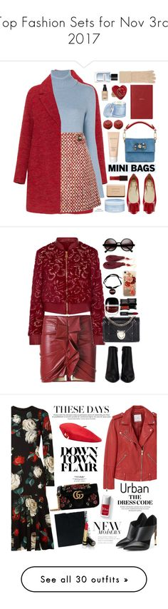 """""""Top Fashion Sets for Nov 3rd, 2017"""" by polyvore ❤ liked on Polyvore featuring Loro Piana, Roger Vivier, Prada, Dolce&Gabbana, Chanel, Laura Mercier, Aveda, William Sharp, D.L. & Co. and Yves Saint Laurent"""