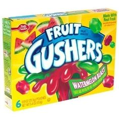 Watermelon Fruit Gushers By Betty Crocker Fruit Gushers, 90s Candy, Lunch Snacks, Easy Snacks, Lunches, My Childhood Memories, 90s Childhood, Have You Tried, 90s Kids