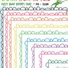 FREE - We have created a 'thin' set of our popular 'fuzzy bump borders' - perfect for worksheets and resources!    This is a set of 10 individual png files....