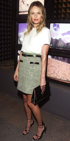 Look of the Day: September 9, 2012 - Kate Bosworth : InStyle.com