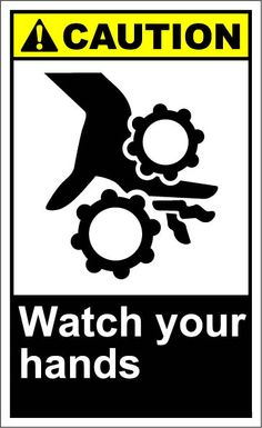 Watch your hands $1.64 #signs