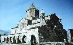 Odzun Basilica, the village of Odzun, Armenia