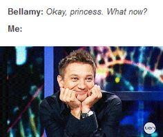 Bellamy, Clarke, Bellarke, tumblr, the 100, funny