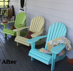 refurbished Muskoka Chairs