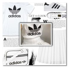 """""""Get the Look"""" by dolly-valkyrie ❤ liked on Polyvore featuring McQ by Alexander McQueen, adidas Originals and adidas"""