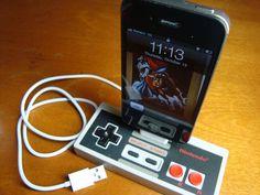 Nintendo NES iphone dock