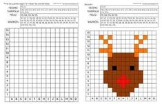 Risultato immagini per pixel art template christmas Christmas Activities, Classroom Activities, Lego Wedo, Pixel Art Templates, Math Challenge, Color By Numbers, Maths Puzzles, Theme Noel, Christmas Templates