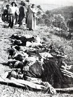 Ayshiyeh massacre - Christian Lebanese civilians killed by the PLO (palestine liberation organization) 1976