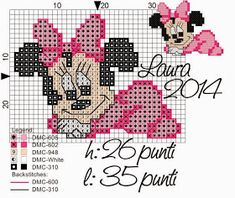 Risultati Immagini Per Disegni Punto Cro - DIY & Crafts Cross Stitch For Kids, Cross Stitch Baby, Cross Stitch Charts, Cross Stitch Patterns, Disney Jewelry, Hand Embroidery Patterns, Le Point, Baby Disney, Cross Stitching