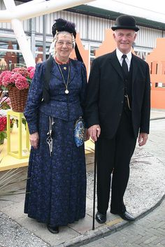 Couple in West Friesland costume #WestFriesland  #NoordHolland