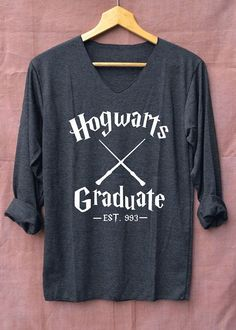 An alumni shirt you'll be very proud to wear. | 35 Awesome And Inexpensive Harry Potter Gifts