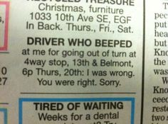 It's never too late to apologize #funny