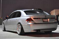2003 745Li custom springs and air links.. spacers.. custom dual personality exhaust all it needs.