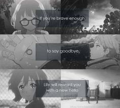 Oh my God! This show just blew me away! Honestly, it may very well sit next to Clannad now amongst my favorite anime. To be clear, that is an impressive feat. -- Beyond the Boundary