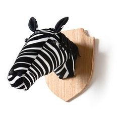 Zebra Wall Mount now featured on Fab.