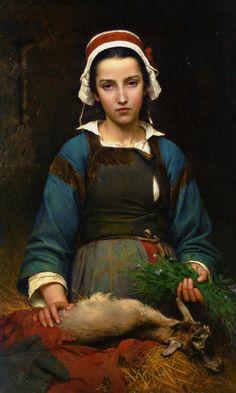 hello-stendhal:  Un amico in difficoltà — Emile Auguste Hubil — 1879 —