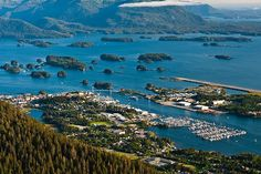 Sitka, AK 1 of 20 best towns to visit in 2013 according to Smithsonian Magazine.  Also where my son Mike lives.