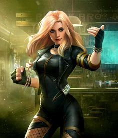 INJUSTICE 2. Black Canary.
