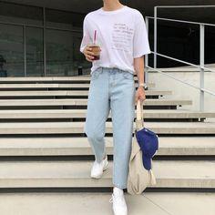 korean fashion trends which is fab. 609964 korean fashion trends which is fab. Korean Fashion Trends, Korean Street Fashion, Korea Fashion, Asian Fashion, Korean Male Fashion, Streetwear Mode, Streetwear Fashion, Kpop Mode, Korean Jeans