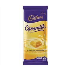 Too Good to be True? Cadbury's New Caramilk Chocolate Bar Leaked Online Caramelized White Chocolate, Care Pack, Cadbury Chocolate, Chocolate Brands, Cool Gear, Bar, Bottle, Australia, Candy