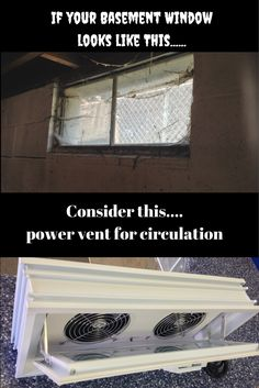 Bad circulation is not only a problem in people - it's a problem in basements! Learn how adding a power vent in a glass block window can get rid of nasty bugs and spiders around your windows in this article - http://blog.innovatebuildingsolutions.com/2015/06/13/fix-top-5-basement-window-problems/