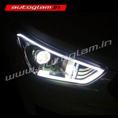 Projector Headlights for Hyundai Creta are replacement of company fitted headlights.
