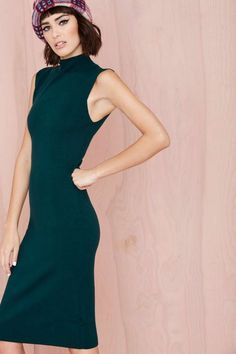 Line and Dot Cher Dress