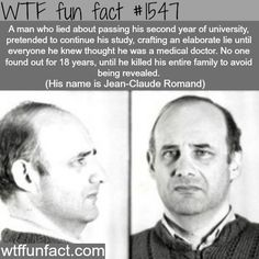 Jean-Claude Romand, the story of a murderer - wtf fun facts